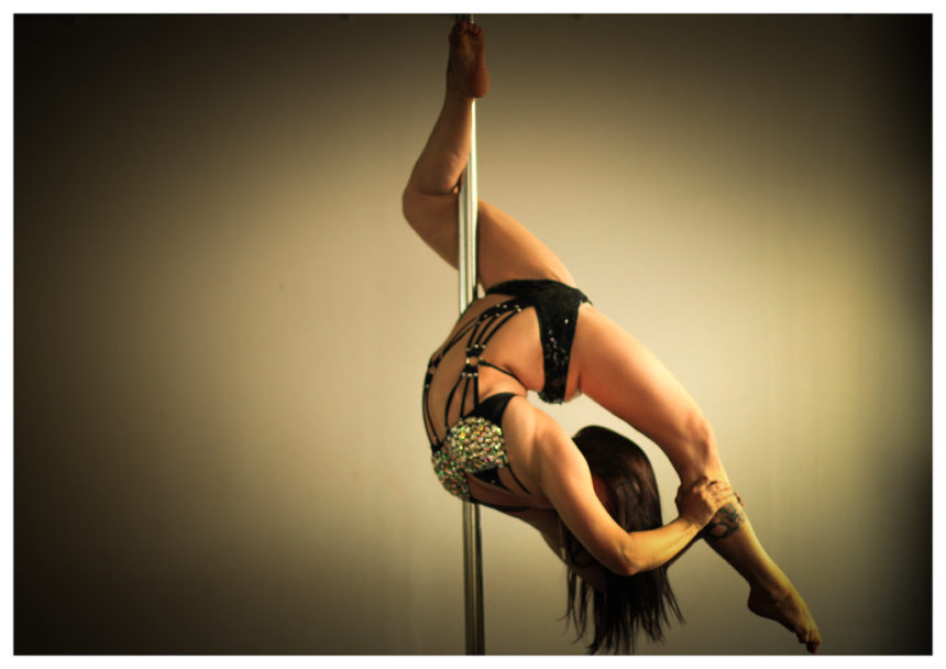 Intermediate Pole Dance